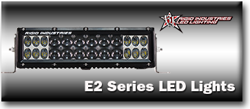 Rigid industries led lights and light bars for less rigid industries e2 series led lightbars aloadofball Choice Image